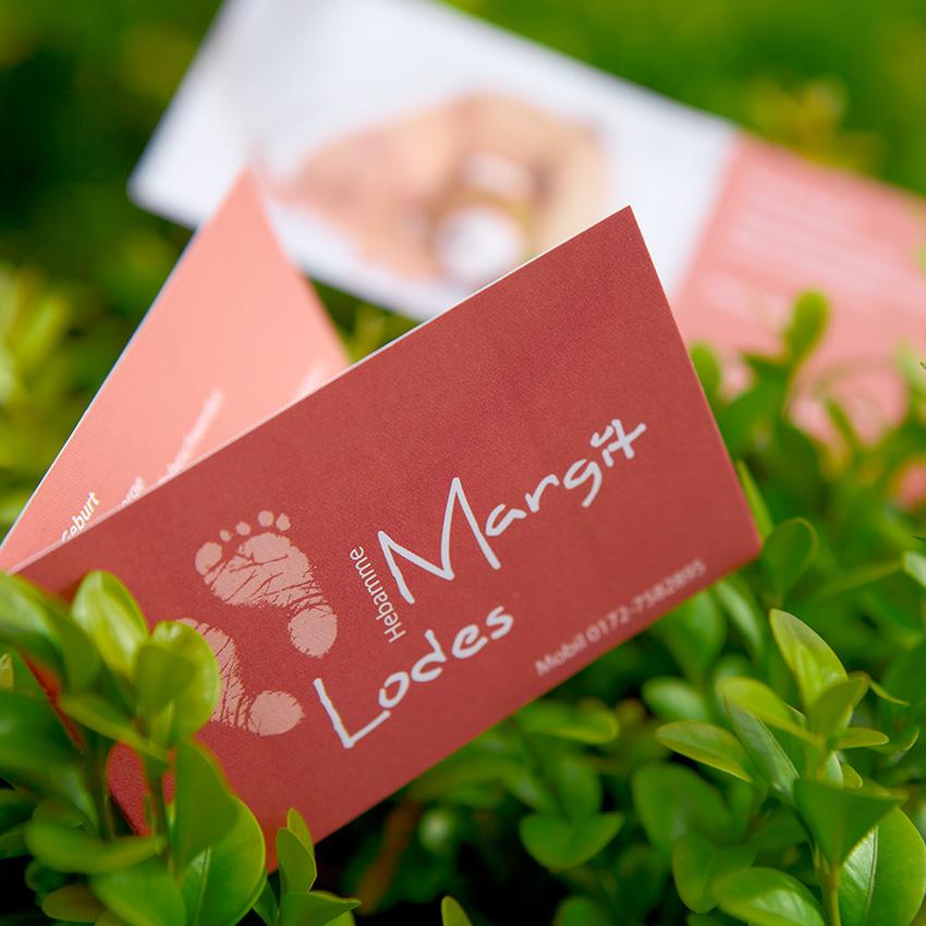 Logo Und Visitenkarten Für Hebamme Antsandelephants